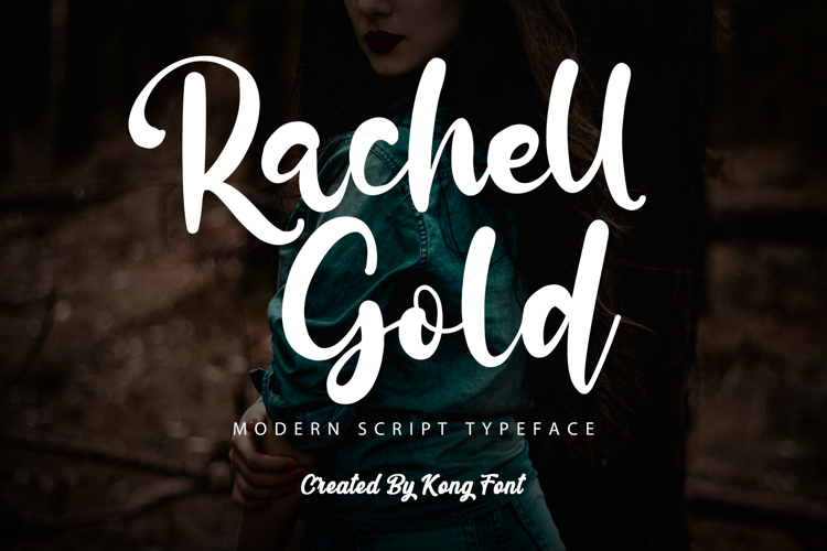 Rachell Gold Font