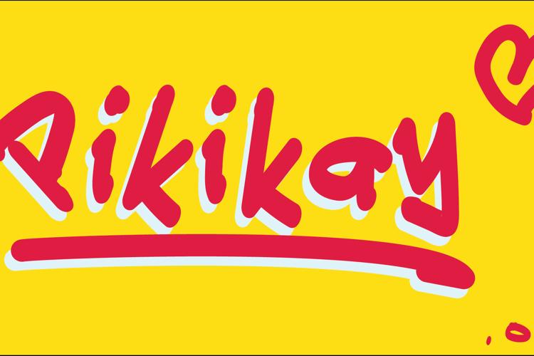 Pikikay Font