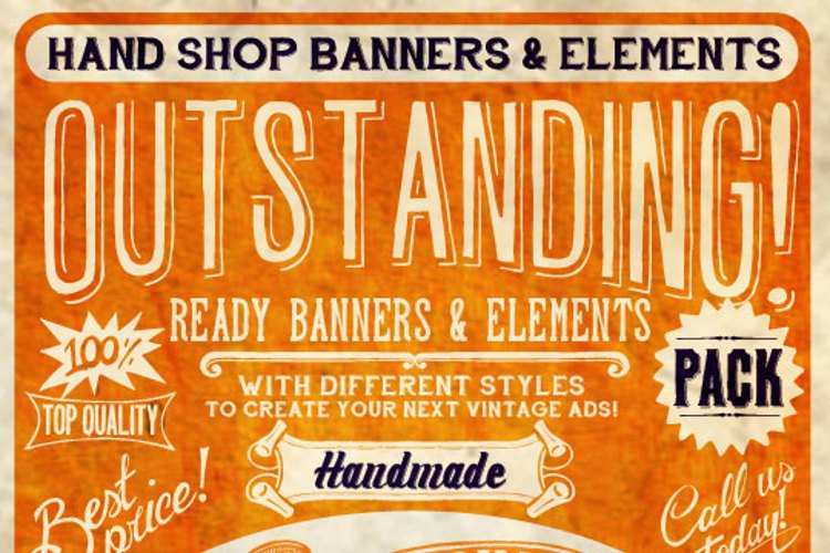 Hand Shop Typography A20_demo Font