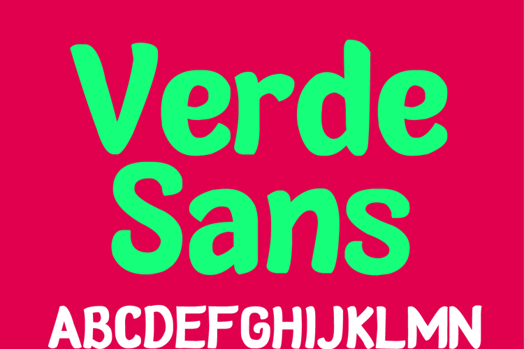 Verde Sans Neue Font