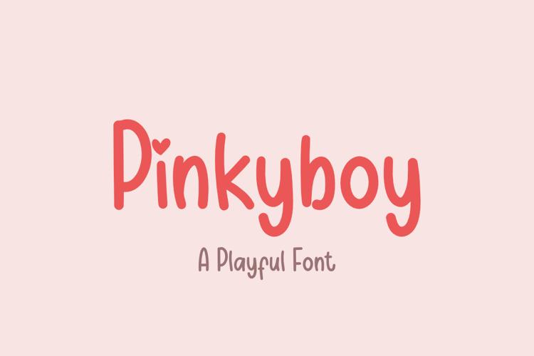 Pinkyboy Font