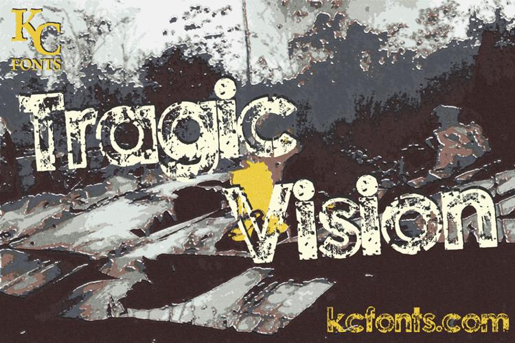 Tragic Vision Font