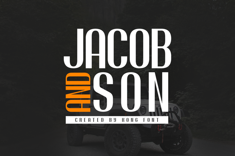 Jacob and son Font