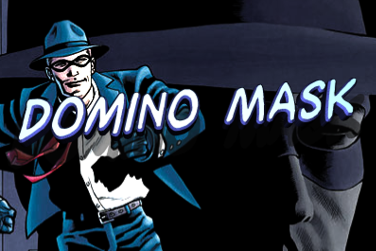 Domino Mask Font