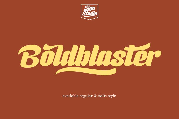 Boldblaster Font