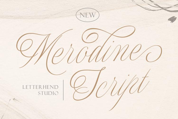Merodine Regular Font