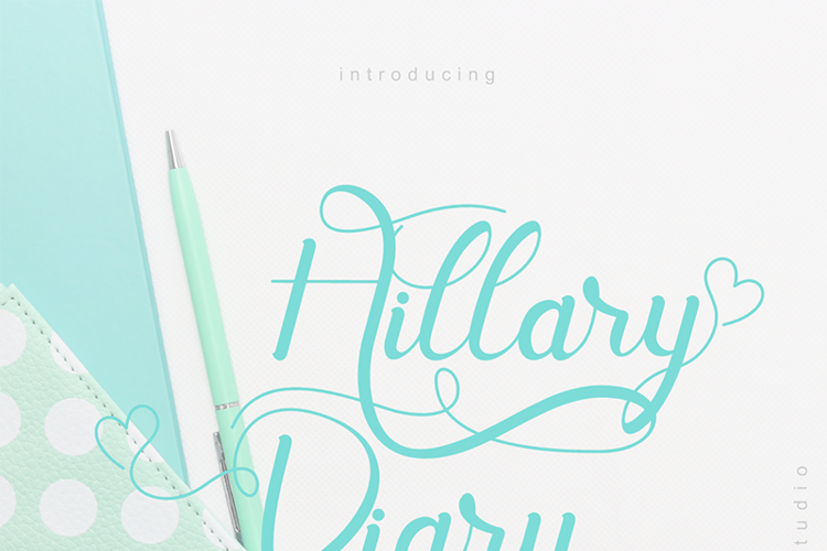 Hill Diary Font