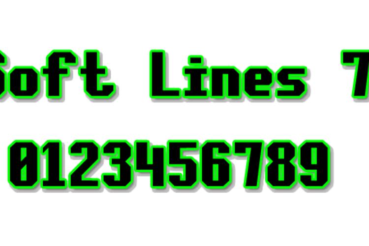 Soft Lines 7 Font
