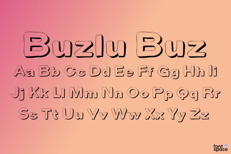 Buzlu Buz Font