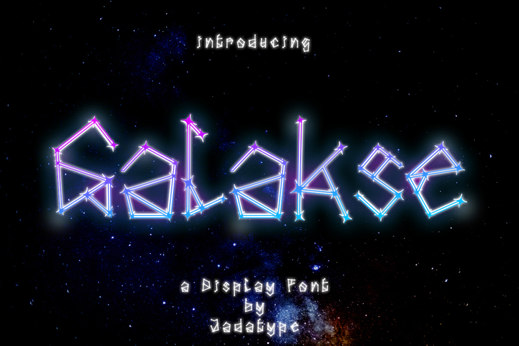 Galakse Font