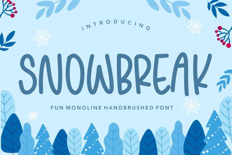 SNOWBREAK Font