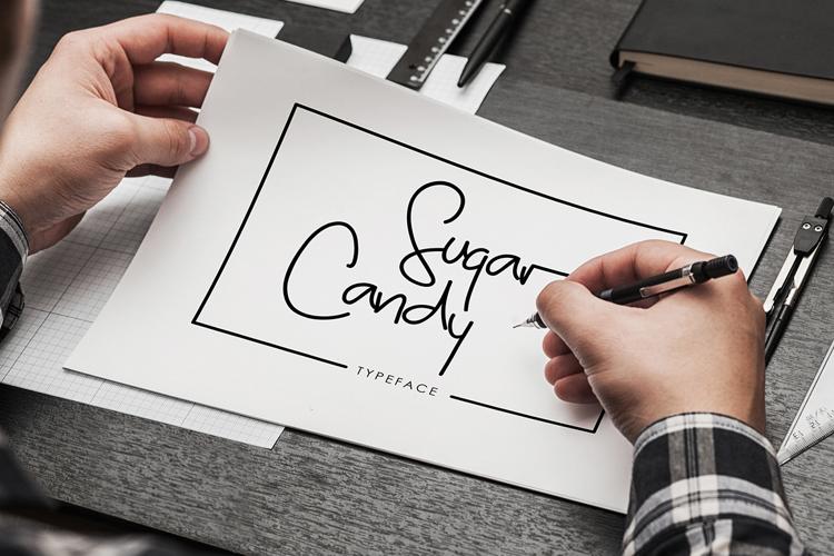 Sugar Candy Font