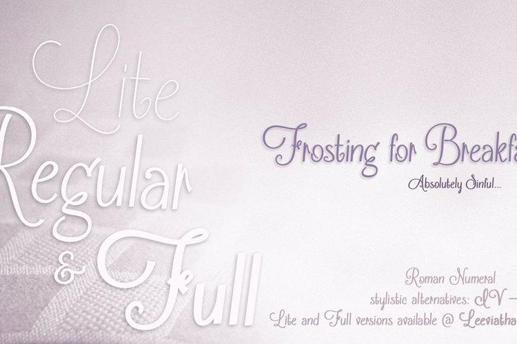 Frosting for Breakfast Font