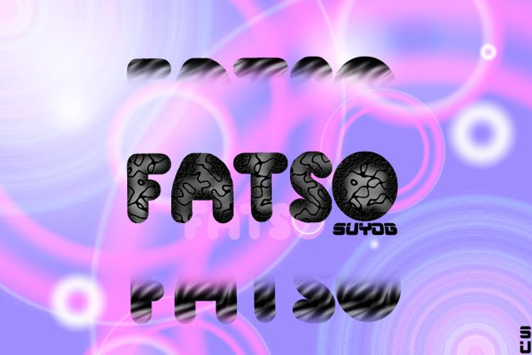 Fatso Font