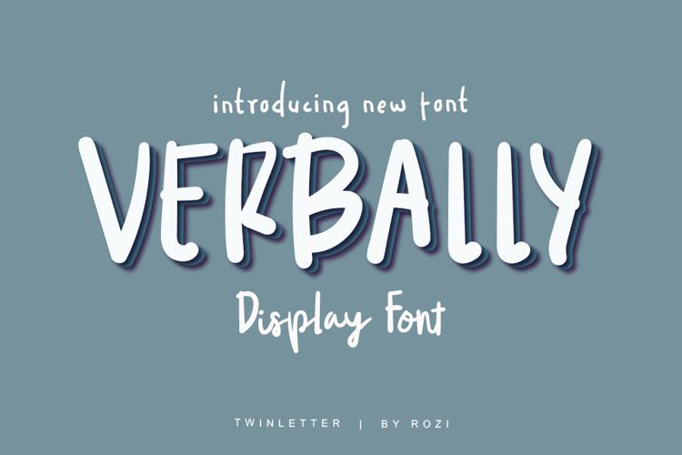 VERRBALY Font
