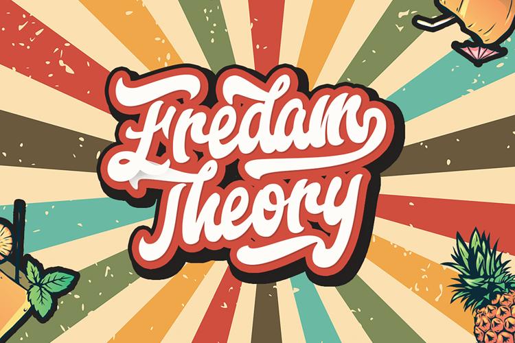 Fredam Theory Font