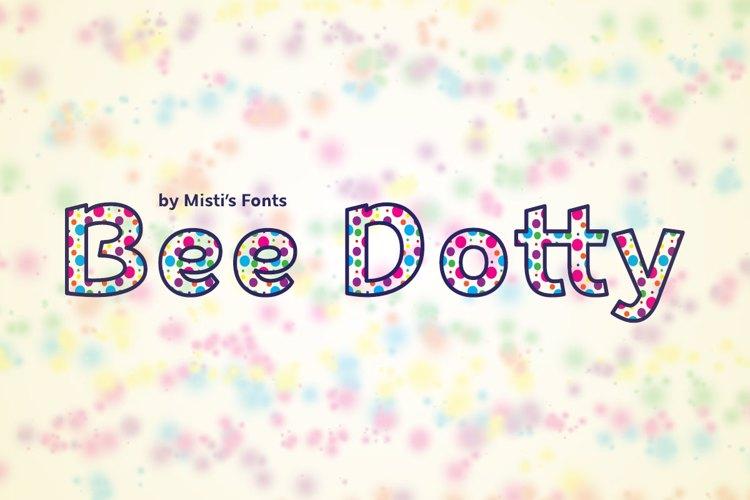 Bee Dotty Font