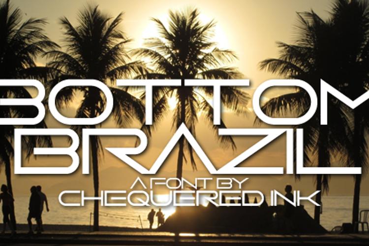 Bottom Brazil Font