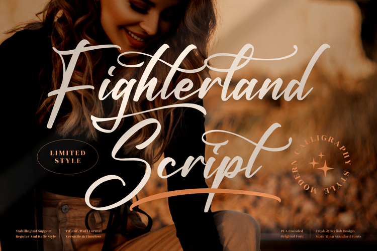 Fighterland Script Font