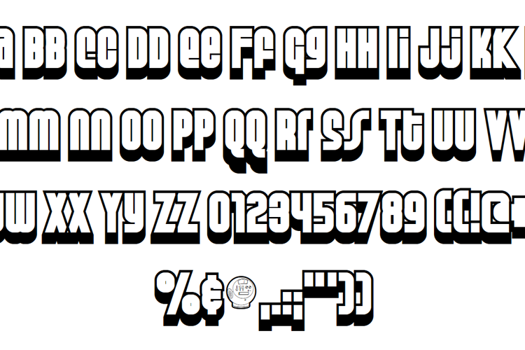 Weltron Special Power Font