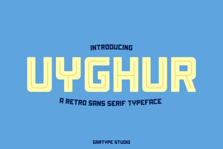 Uyghur Font