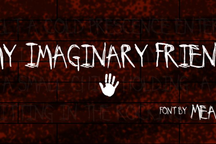 My Imaginary Friend Font