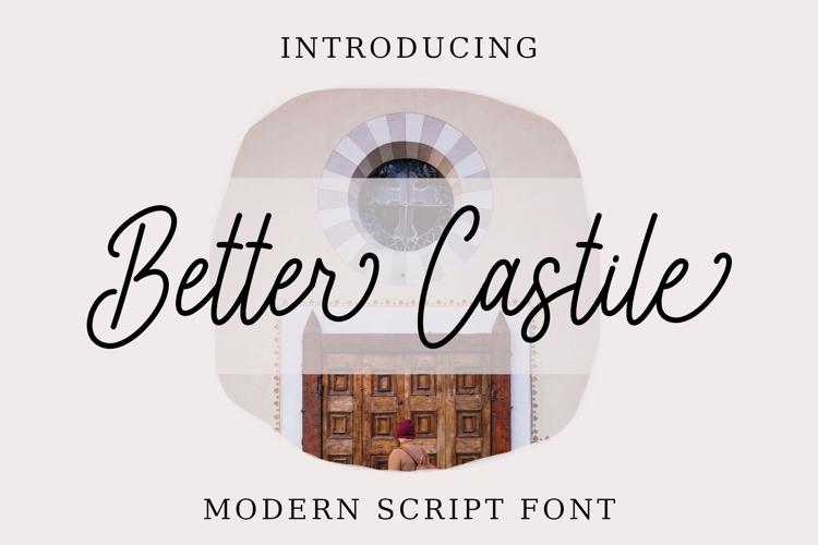 Better Castile Font