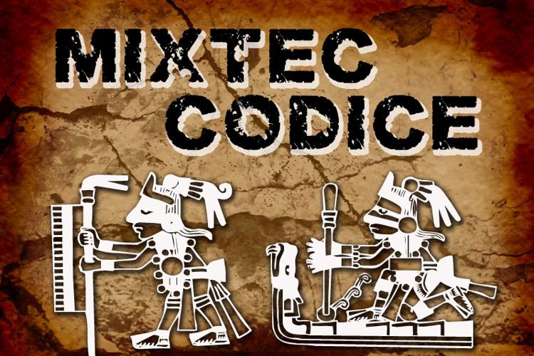 Mixtec Codice Font