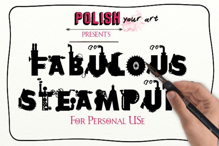 Fabulous Steampunk Font