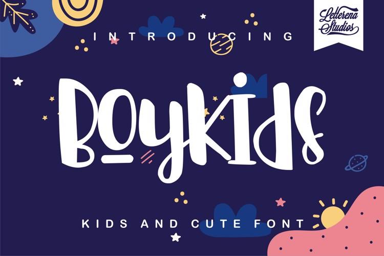 Boykids Font