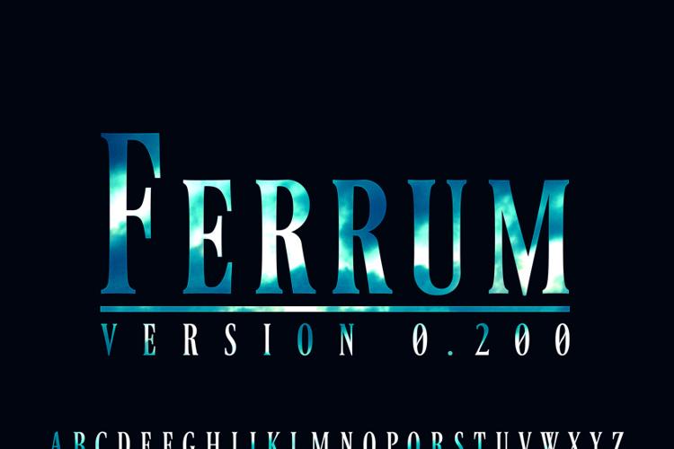Ferrum Font