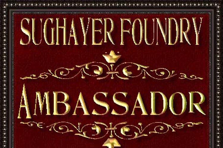 Ambassador Font