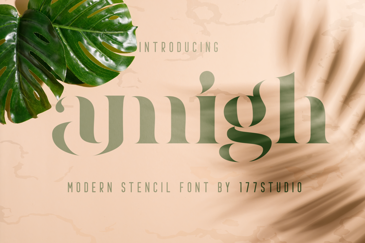 amigh Font