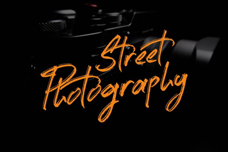 Street Photography Font