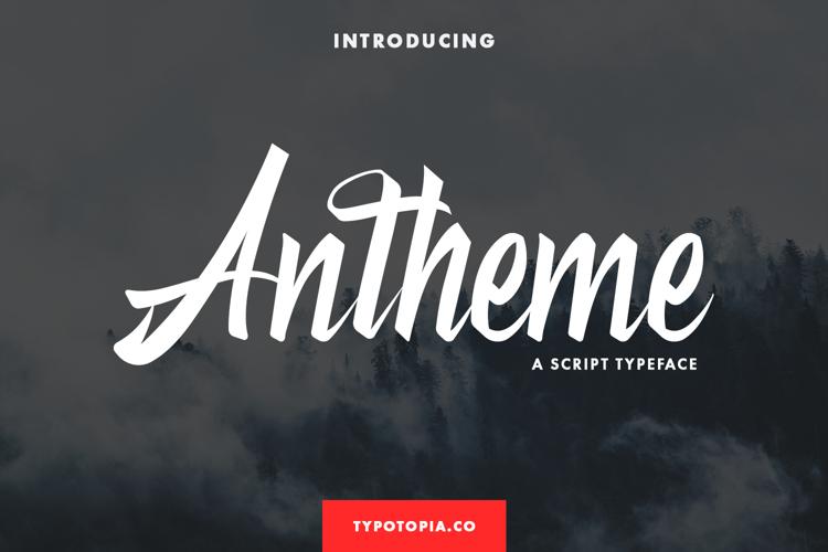 Antheme Font