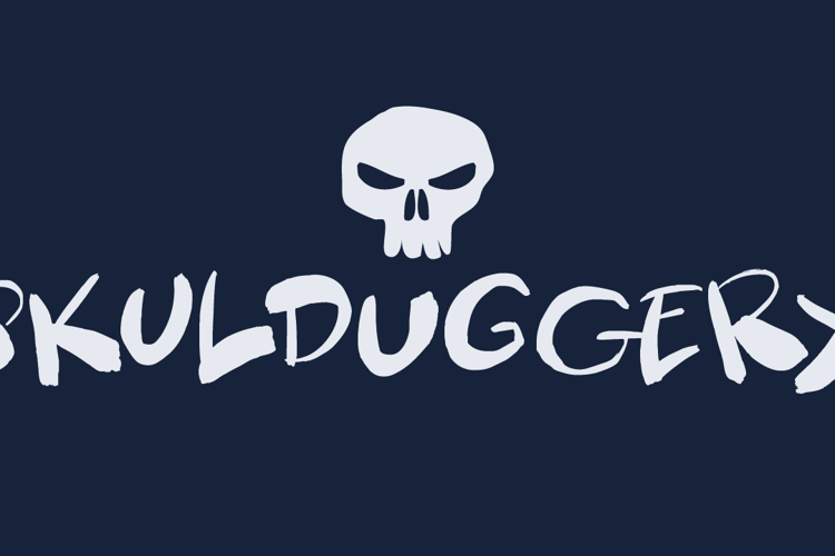 Skulduggery DEMO Font