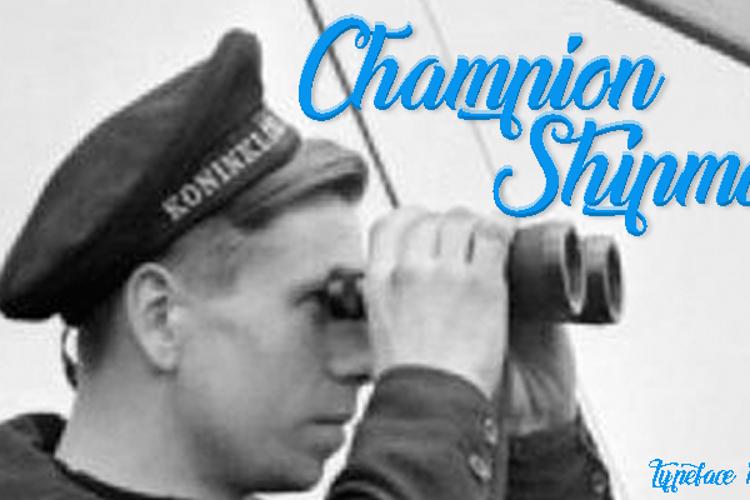 Champion Shipmate Font
