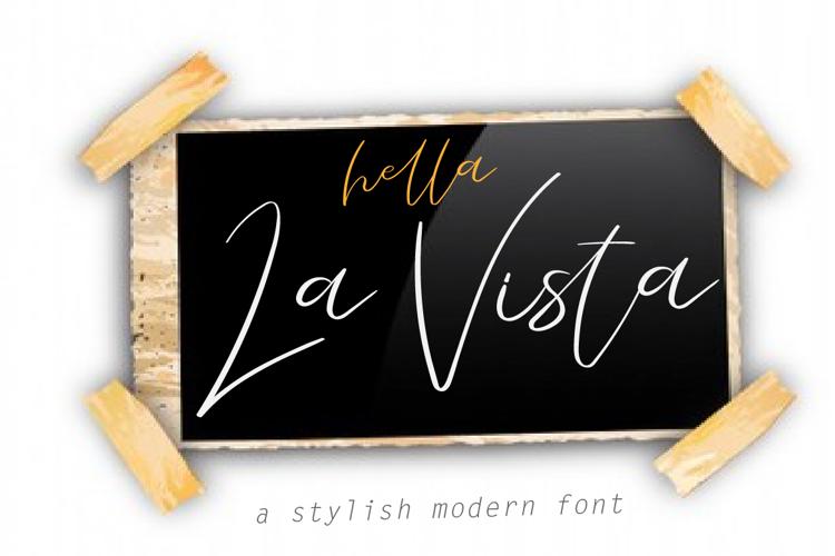 La Vista Font