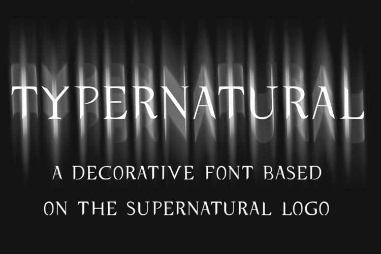 typernatural Font