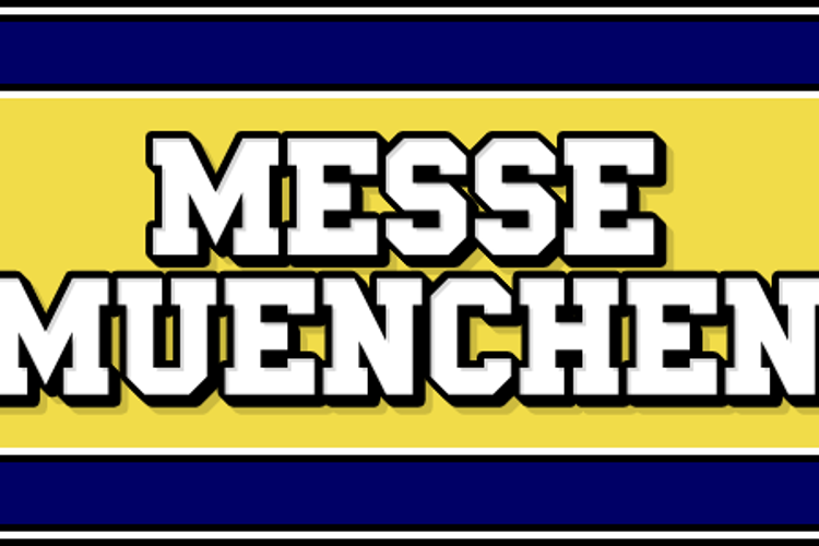 Messe Muenchen Font