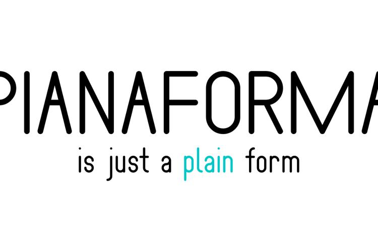 Pianaforma Font