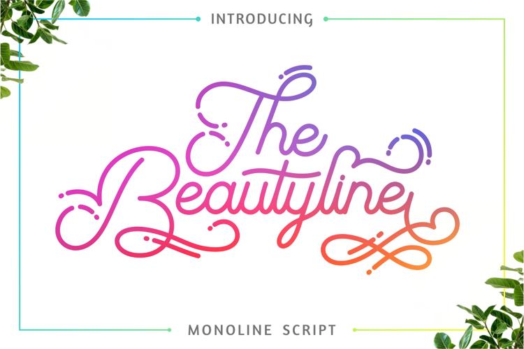 The Beautyline Font