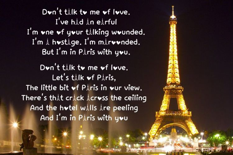 Love in Paris Font