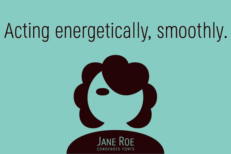 Jane Roe Font