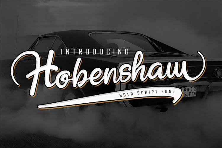 Hobenshaw Font