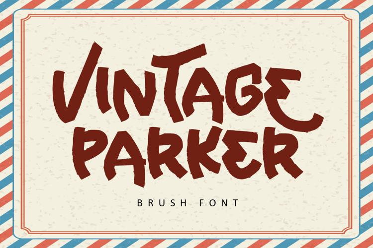 Vintage Parker Font