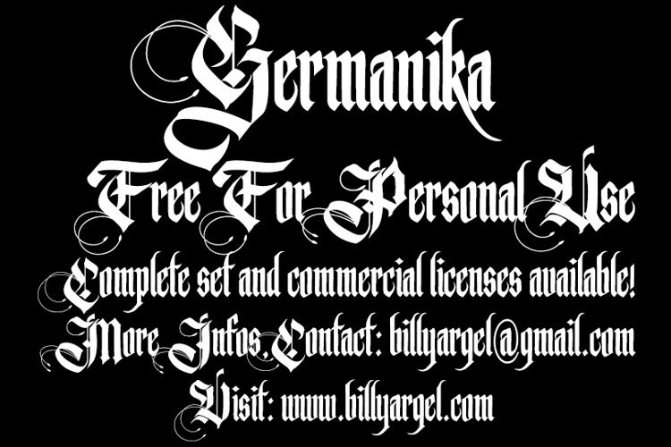 Germanika Font