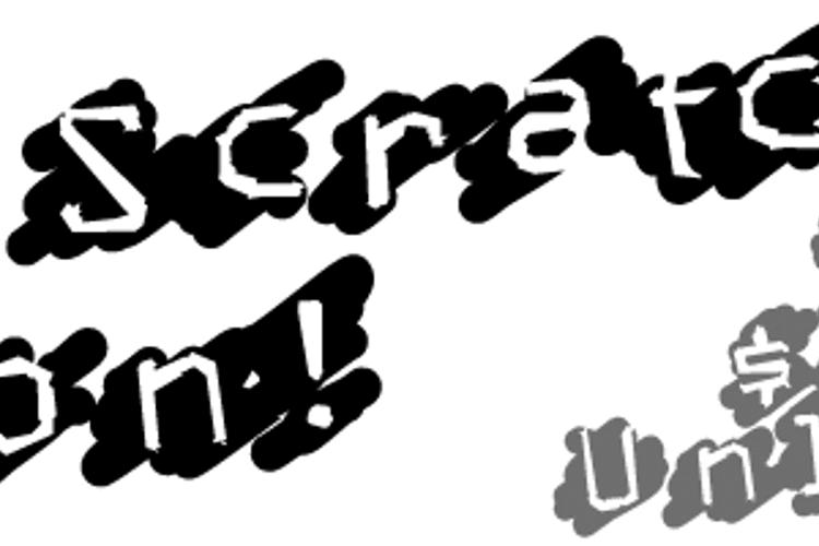Lucky Scratcher Font