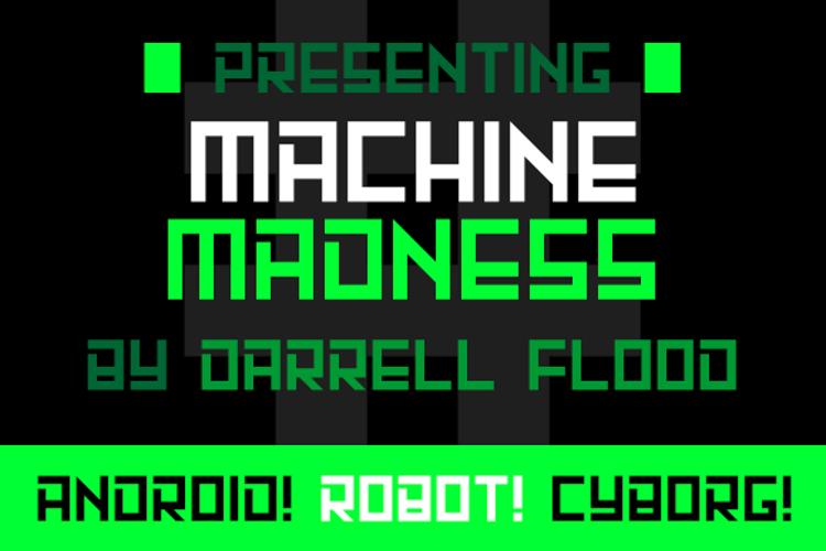 Machine Madness Font