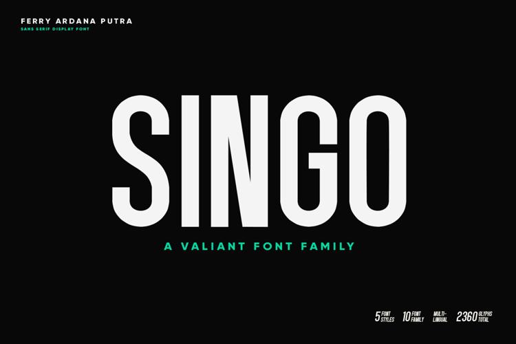 Singo Sans Font